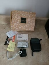 Sony Cyber-Shot DSC-W730 ~ 16.1 MP~ Blue Digital Camera with 8 gig memory card