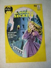 House Of Secrets #89 Cover Art, original approval cover proof 1970'S No Escape