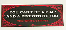 The White Stripes *Icky Thump* Promo Sticker Decal Dead Weather Raconteurs *Rare