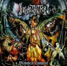 INCANTATION DIABOLICAL CONQUEST CD 1998 FIRST PRESS RARE DEATH METAL RELAPSE OOP