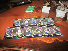 2014 NRL TRADERS NORTH QLD COWBOYS PARALLEL TEAM SET 11 CARDS THURSTON TATE