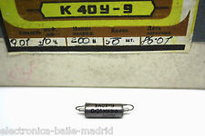 K40Y-9 0.01uF 200V PAPER IN OIL CAPACITOR PIO FOR FENDER JAGUAR
