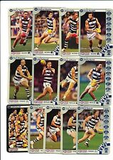 2013 TeamCoach Geelong Gold team set 13 cards Team Coach