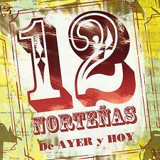 Various Artists : 12 Norteñas de Ayer y  Hoy CD