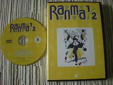 DVD ANIMACIÓN MANGA RANMA 1/2  LA SERIE DE TV VOLUMEN 8 USADO BUEN ESTADO