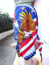 BE/86 HEAD COVER MOTORCYCLE UNISEX BANDANA EAGLE HAIR SCARF BIKER WOMEN STAR NEW