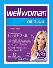 Vitabiotics Wellwoman Original Vitamin & Mineral Supplement - 30 Capsules BNIB