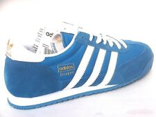 Adidas Dragon Mens Shoes Trainers Uk Size 7 - 12   G50922  Blue Bird