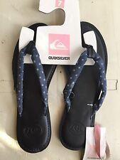 Quiksilver ladies breakers sandal blu sz 7