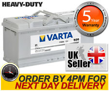 Varta Silver I1 Heavy Duty Car Battery 12V 110AH 5 Yrs Wty Range Rover Audi BMW