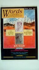 Words The New Literary Forum Number 1 FIRST ISSUE June 1985 VERY RARE