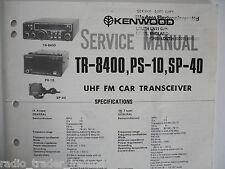 Kenwood (trio) tr-8400 (Manual de servicio solamente)............ radio_trader_ireland.