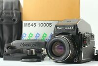 【MINT in BOX】Mamiya M645 1000s +SEKOR C 55mm f2.8 + Prism Finder From JAPAN #322