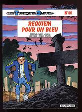 TUNIQUES BLEUES T 46  REQUIEM POUR UN BLEU    LAMBIL / CAUVIN     EO
