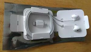 Apple Lightning EarPods for iPhone 7 Plus/8/X - White (Brand New)