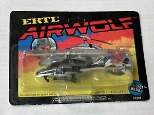 Airwolf 1984 Helicopter Ertl MOC