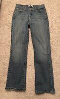 Women's Levi's Levi 529 Jeans Size 6M. Curvy leg bootcut. Dark Wash