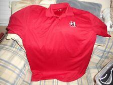 Hickory Crawdads red golf shirt sz XL  - DSCN1310