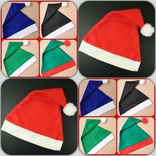 SANTA  HAT GREEN BLUE BLACK  ELF RED GREEN COLOURS Santa Hat Drinking Game idea