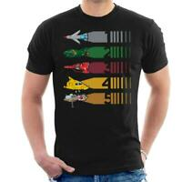 Thunderbirds Vehicle Stripes Men's T-Shirt