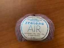 Yarn Zealana Air Lace Weight 40% cashmere 40% brushtail possum down 20%