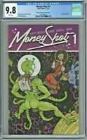 Money Shot #1 CGC 9.8 2nd Second Printing Variant Cover Edition Chris Burnham