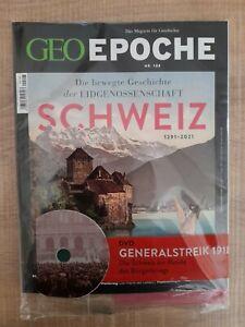 GEO Epoche  Schweiz 1291-2021 Nr. 108 mit DVD - Magazin für Geschichte