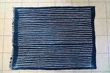 Altes Wickeltuch für Frauen Baumwolle Dafing DF64 Indigo Old Cloth Tissu Afrozip