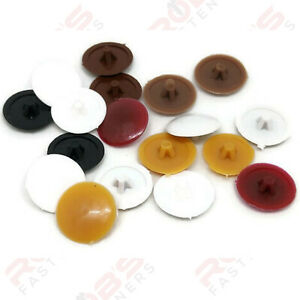 Screw Caps Covers Pozi Head PZ2 Push Fit Furniture Black White Grey Brown Spax