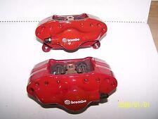 2008 MITSUBISHI LANCER EVOLUTION X OEM BREMBO REAR BRAKE CALIPERS EVO 10