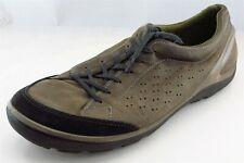 ECCO  Hiking Shoes Brown Leather Men 47 Medium (D, M)