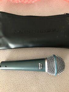 Shure Beta 58A Microfono Dinamico Supercardioide per Voce
