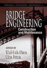 BRIDGE ENGINEERING: CONSTRUCTION AND MAINTENANCE - PRINCIPLES - Hardcover - NEW