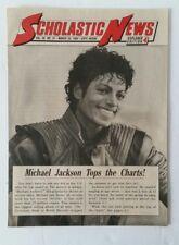 Scholastic News Explorer Mar 23 1984 Vol 46 #21 Star Michael Jackson Tops Charts