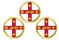 Neuf Sud Galles Australie Marqueurs de Balles de Golf