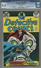 DETECTIVE COMICS #437 CGC 9.4 JIM APARO COVER! WHITE PAGES 1973