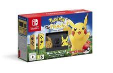 Nintendo Switch - Pikachu & Evoli Edition with Pokémon: Let's Go, Pikachu! + Poké Ball Plus Konsole Set