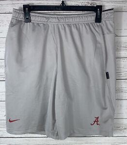 Mens Nike Alabama Crimson Tide  Dri Knit Shorts On Field Small NEW $45
