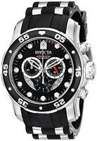 Invicta Men's Pro Diver Quartz Chronograph Black Dial Watch 6977