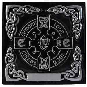 Silver Claddagh GAA Shield (CC12)