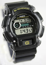 Casio DW9052-1B Mens G-Shock Chronograph Watch 200M WR Resin Black Sports New