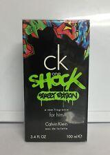 Ck One Shock Street Edition Him Calvin Klein 3.4oz /100ml Edt Spray,New & Sealed