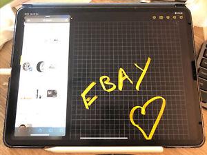 """Apple iPad Pro 3e gen 64Go, Wi-Fi, 12,9"""" - Gris sidéral (avec Apple pencil)"""