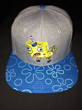 SPONGEBOB SQUAREPANTS CHICKEN FACE SnapBack Hat. Brand New. One Size Fits All