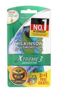 WILKINSON Xtreme3 Sensitive disposable men's razors machines, 4pcs