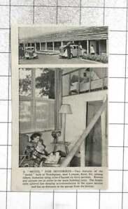 1954 A New Motel Built At Newingreen Near Lympne, Kent