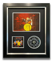 ROGER TAYLOR HAND SIGNED FRAMED CD DISPLAY - QUEEN - A KIND OF MAGIC.