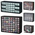 Storage Organizer Cabinet Plastic Drawer Parts Hardware Container Bin Toy Garage