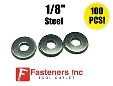 1//4 x 3//4 100 x Imperial SAE Steel Backing Washers for 1//4 Blind Pop Rivets Size