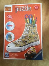 Ravensburger Despicable Me 3 Sneakers 108pc 3D Jigsaw Puzzle - New / Sealed